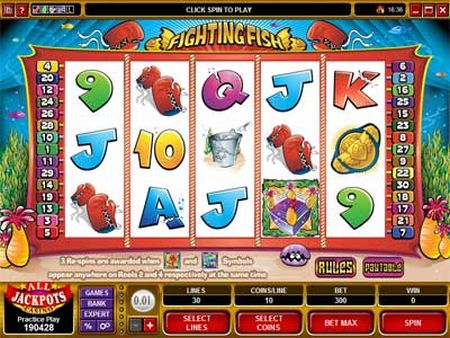 Fighting Fish Slot Game Review