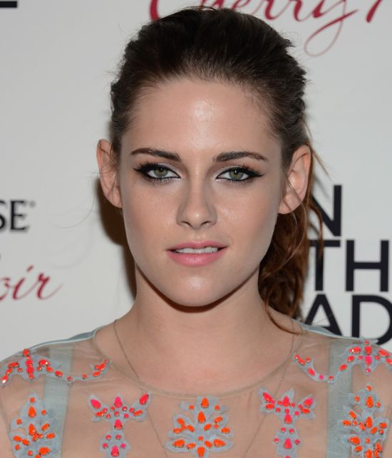 Kristen Stewart in See Thru Dress (11 pics)