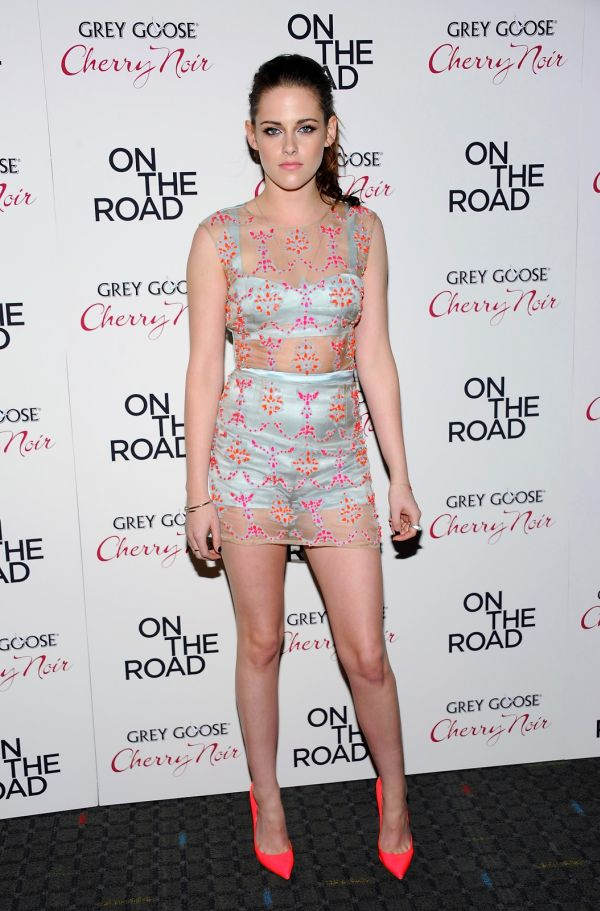 Kristen Stewart in See Thru Dress (11 pics)