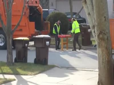 How Garbage Workers Spend Time