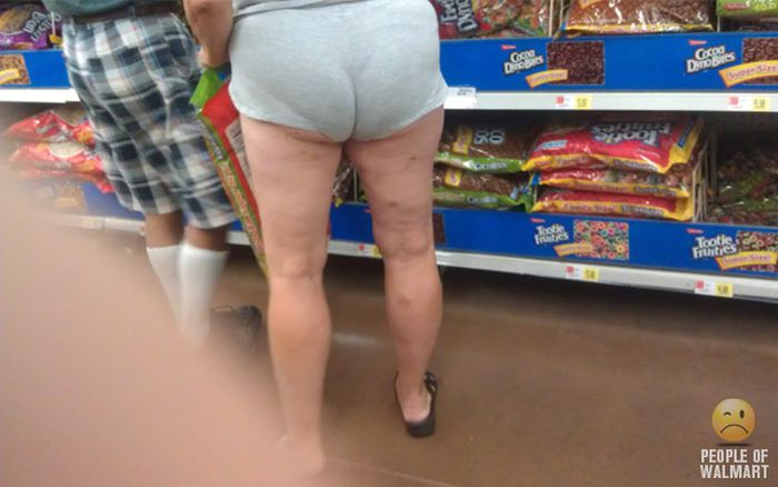 People of WalMart. Part 19 (60 pics)