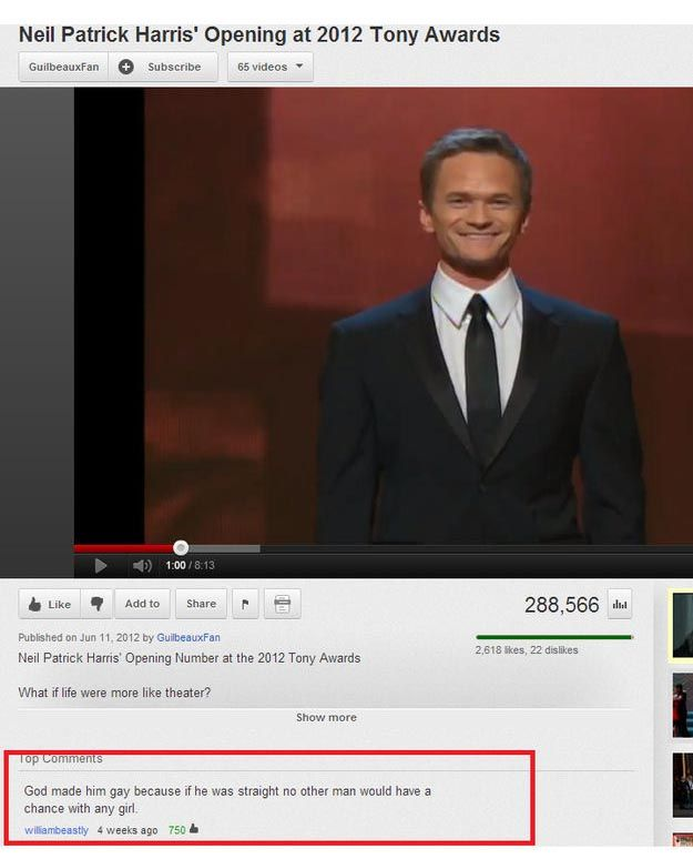 The Funniest YouTube Comments of 2012 (25 pics)