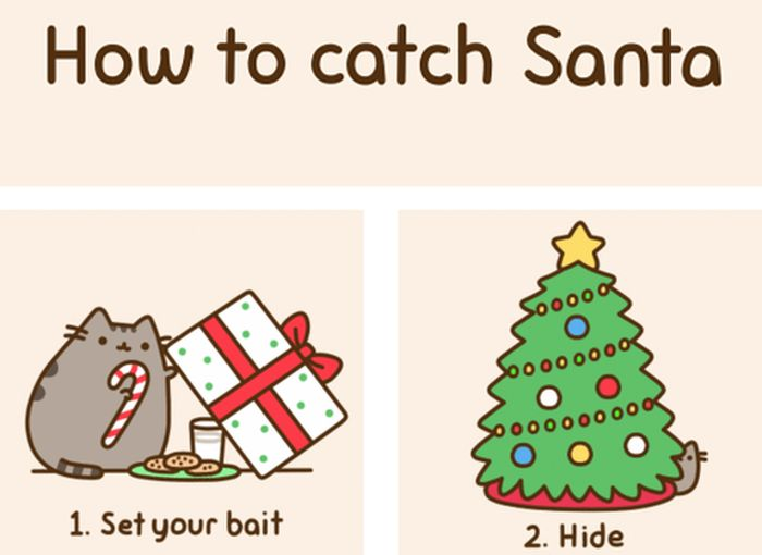 How to Catch Santa (7 gifs)