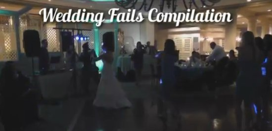 Best Wedding Fails Compilation of 2012