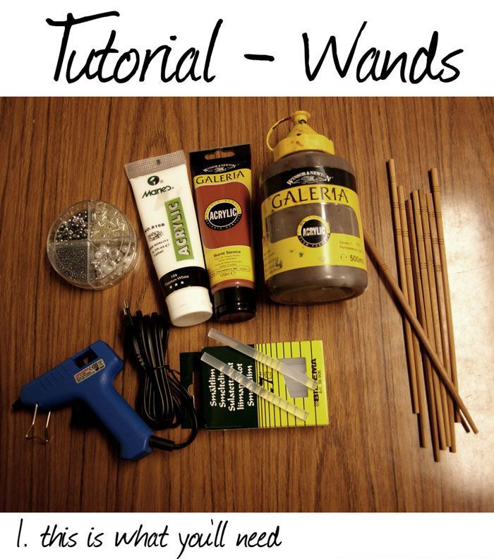 DIY Harry Potter Style Wands (12 pics)