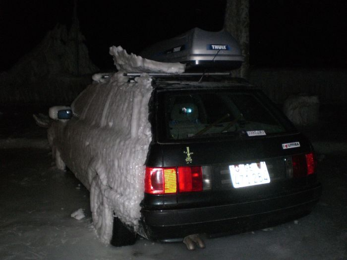 Cars after an Ice Storm (12 pics)