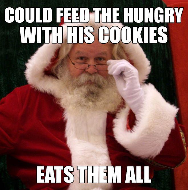 Scumbag Santa (10 pics)