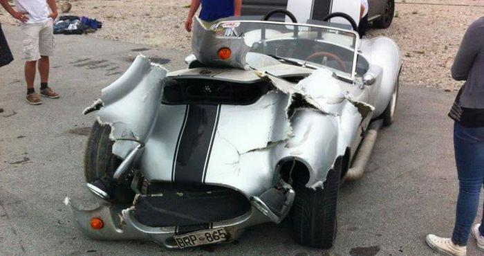 Duct Tape Car (2 pics)