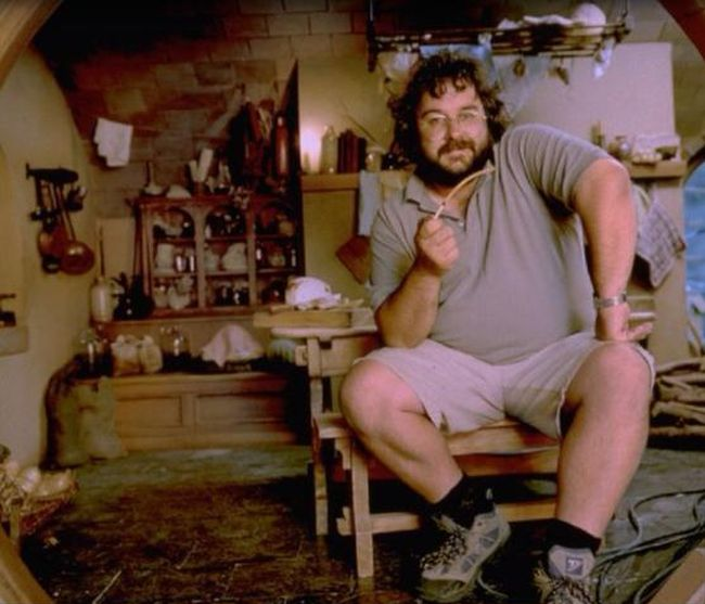 Peter Jackson Then and Now (2 pics)