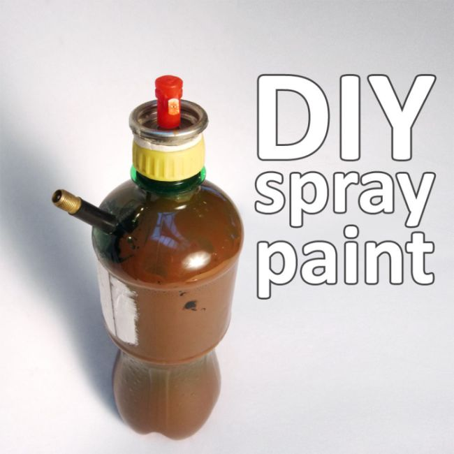 DIY Spray Paint (11 pics)