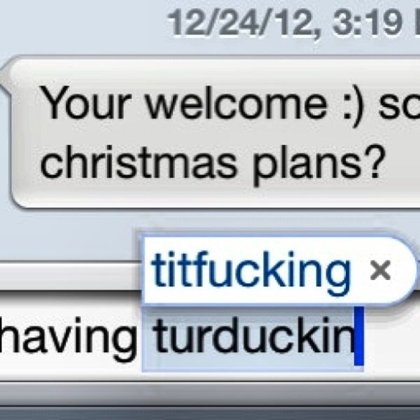 Funny Christmas Autocorrects (20 pics)