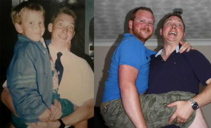 Then and Now. Part 7 (32 pics)