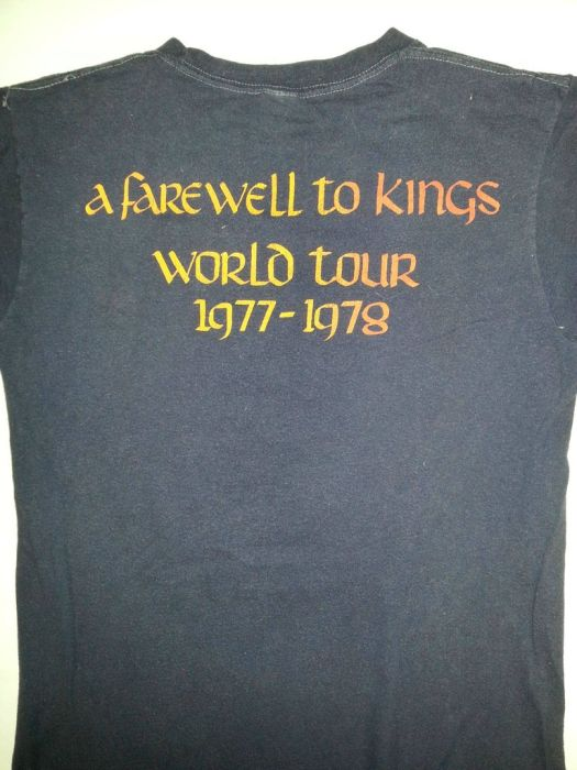 Concert T-shirts from the 70's (36 pics)
