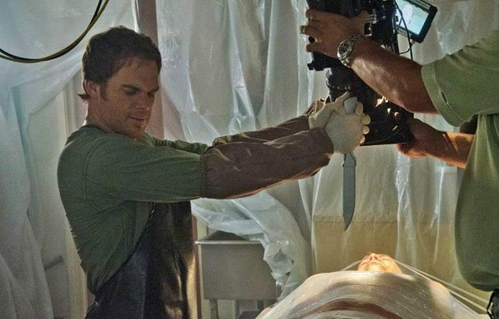 Dexter Behind the Scenes (12 pics)