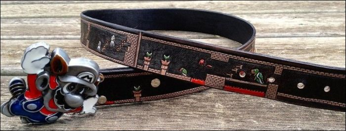Super Mario Belt (3 pics)