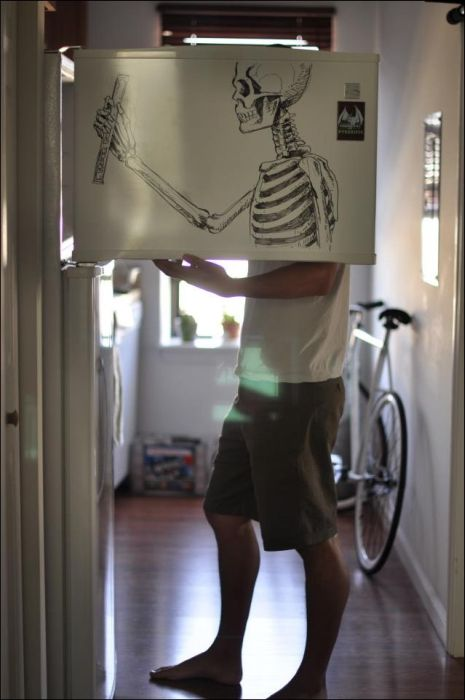 Fridge Painting (10 pics)