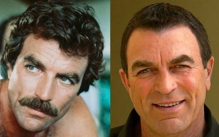 Celebrities With and Without Beards (25 pics)