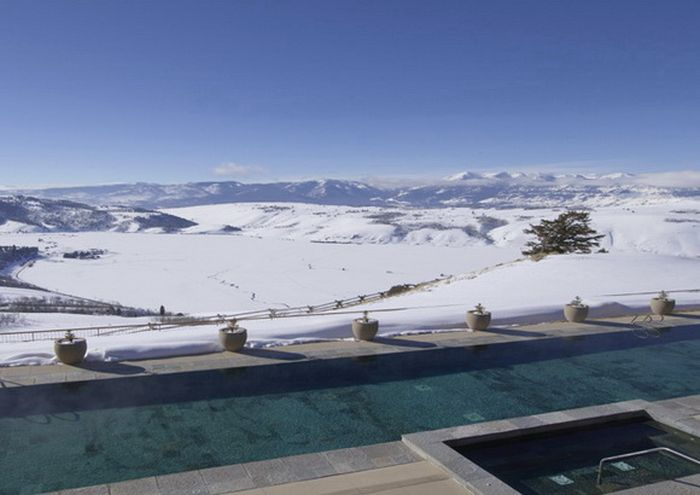 The Most Beautiful Winter Pools (18 pics)