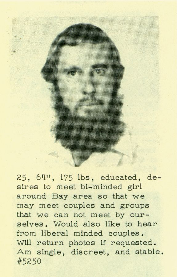 Men's Personal Ads from the 60's (13 pics)