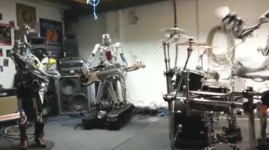 Awesome Robot Rock Band