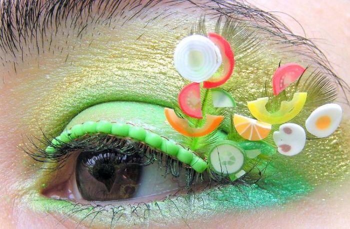 Eyelash Decoration (22 pics)