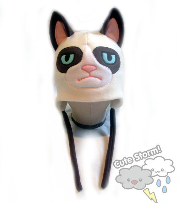 Grumpy Cat Hat (4 pics)