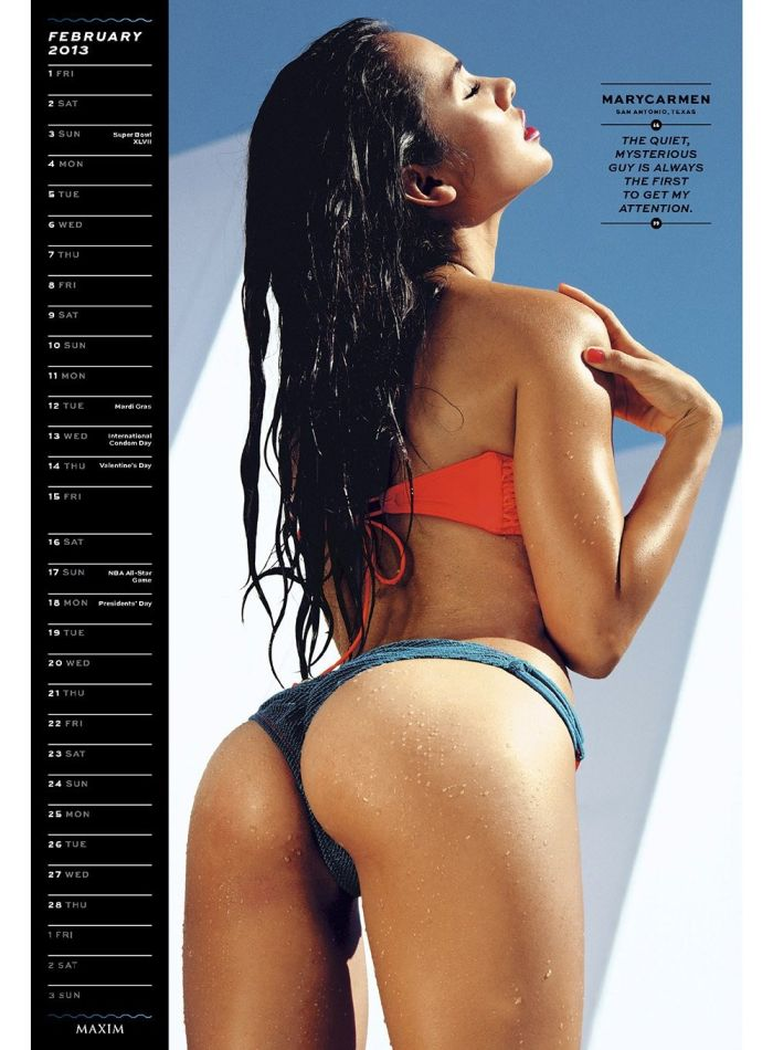 Maxim Hometown Hotties 2013 (14 pics)