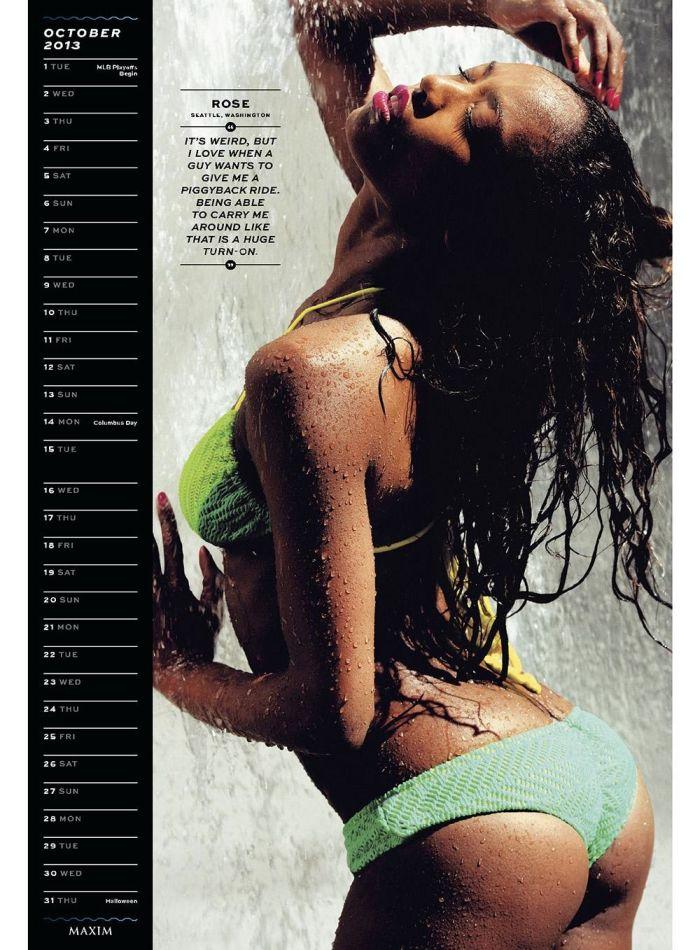 Maxim Hometown Hotties 2013 (14 pics)