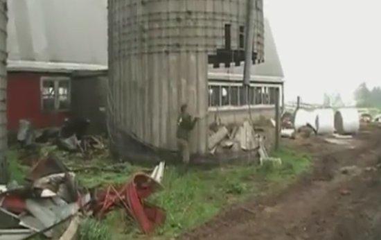Weird Demolition Close Call