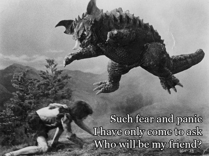 Godzilla Haiku (12 pics)