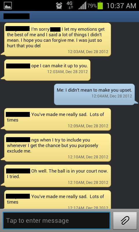One Guy De-Friended a Friend's Girlfriend on Facebook (8 pics)