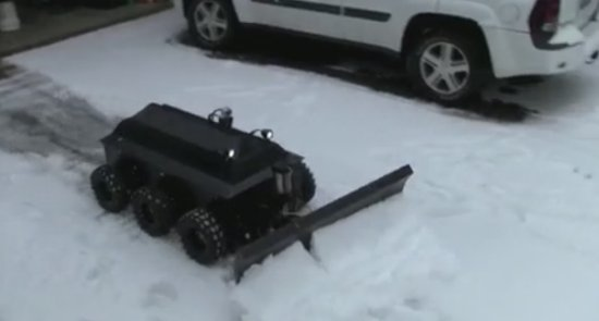 Awesome Handmade Snow Cleaning Machine