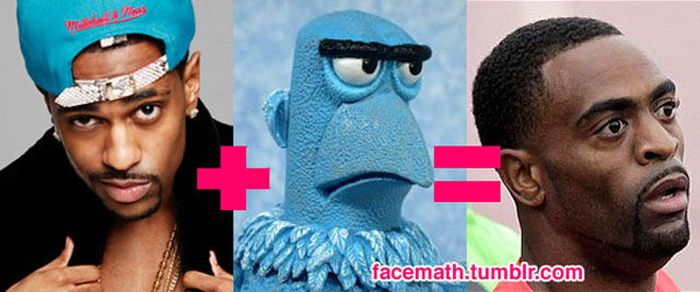 Facemath - Famous Faces Come Together (30 pics)