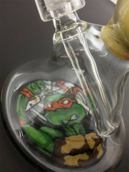 The TMNT Slice of Pizza Bong (6 pics)