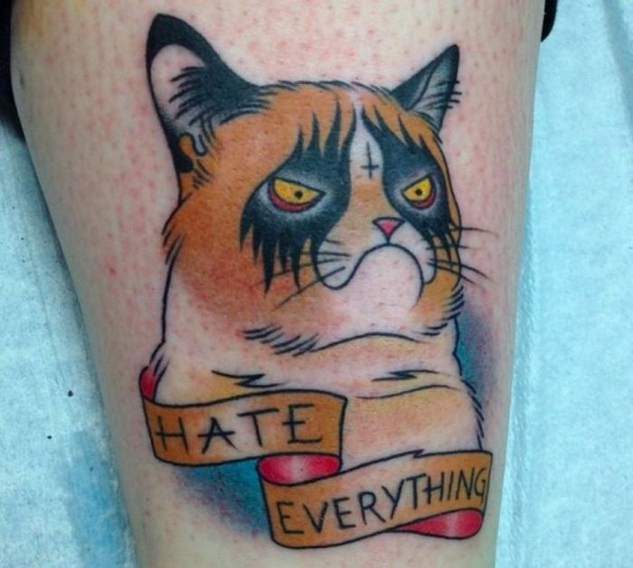 Pretty Cool Cat Tattoos (38 pics)