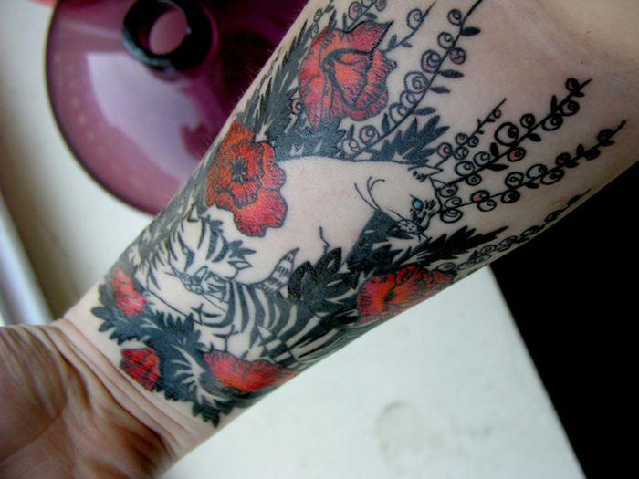 Pretty Cool Cat Tattoos (38 pics)