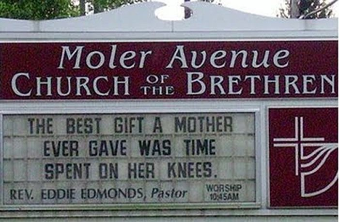 Awkward Church Signs (28 pics)