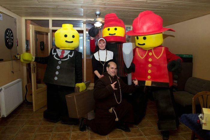 """Костюм Лего своими руками """" Чирпи.ру - Поднимаем настроение!"""