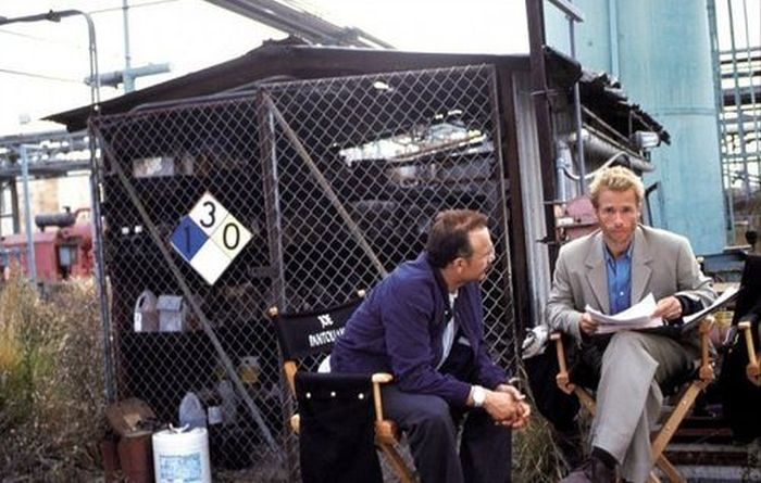 On the Set of Classic Movies (45 pics)