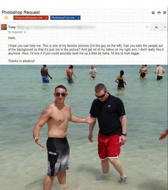 Photoshop Trolling (3 pics)