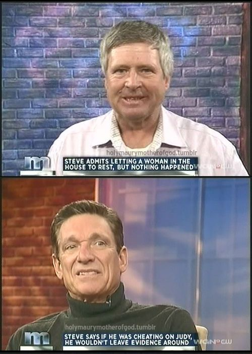 "The Best Moments on ""The Maury Show"" (48 pics)"