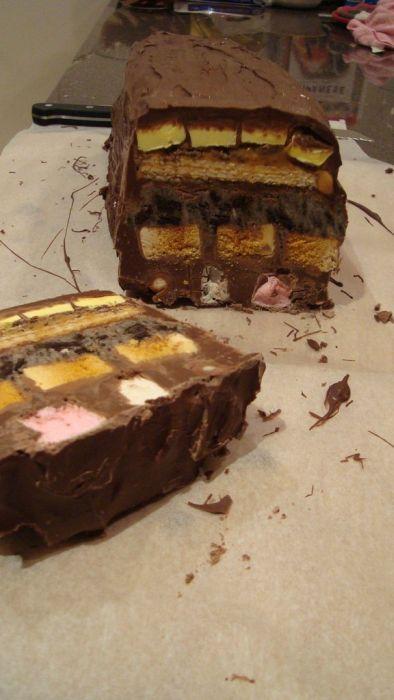 DIY Giant Chocolate Bar (12 pics)