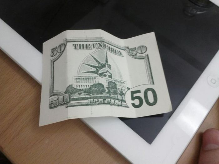 Fifty-Dollar Bill Business Flyer (3 pics)