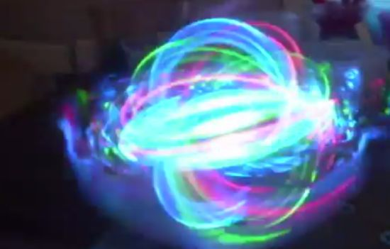 The Coolest Hand-Made LED Ball That I Ever Seen