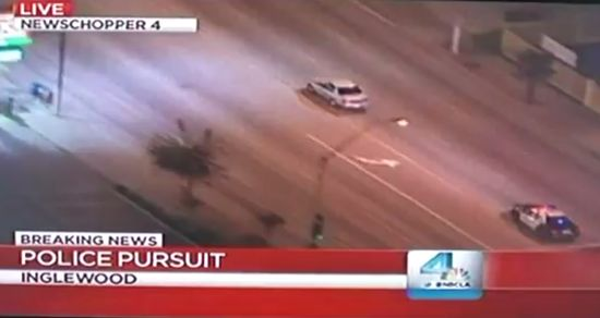 Police Pursuit in Front of Your Home