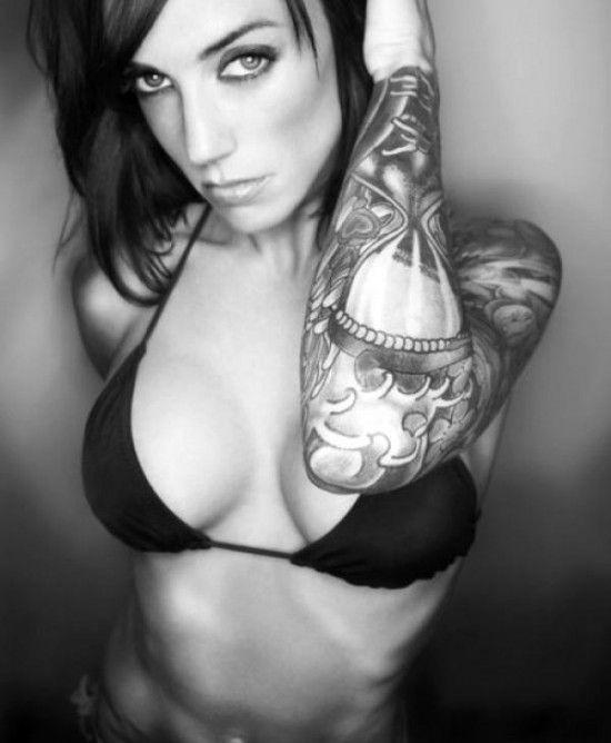 Tattooed Girls (60 pics)