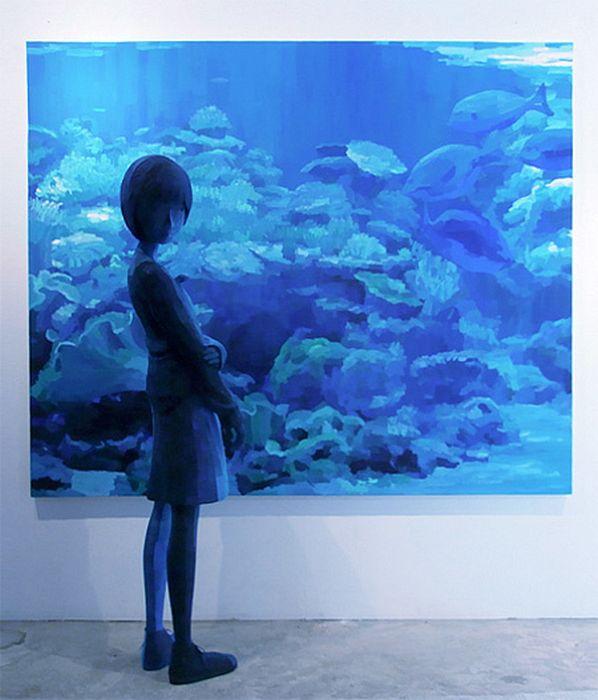 3D Paintings by Shintaro Ohata (20 pics)