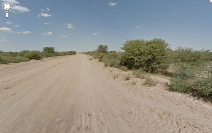 "Google Street View Donkey ""Accident"" in Botswana (11 pics)"