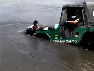 How To Get a Jeep Out of Water