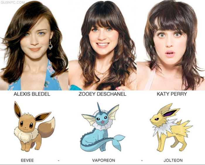Celebrities as Pokemon Characters (20 pics)